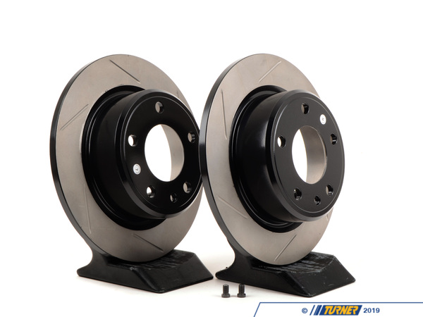 StopTech Gas-Slotted Brake Rotors (Pair) - Rear - E30 M3 34212225507GS