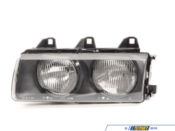 T#3935 - 63121387863 - E36 1992-99 Replacement Headlight Housings (pair) - TYC - BMW