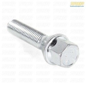 Wheel Bolt for BMW, MINI - 12x1.50 - Silver - fits most BMWs