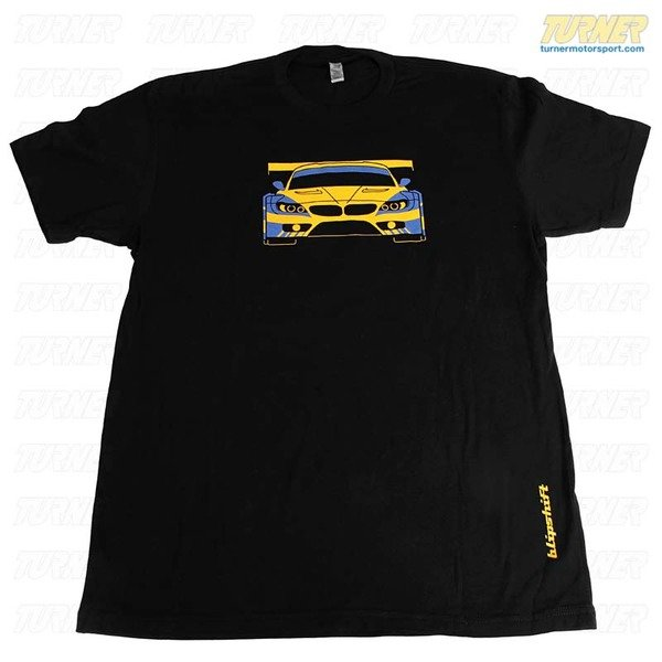T#338603 - BSW-Z4-FITTED - Turner Motorsport Blipshift Z4 Racecar Womens Fitted T-Shirt - Turner Motorsport - BMW