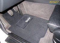 Genuine BMW E46 Convertible Floor Mats to Fit E30 - Set of 4