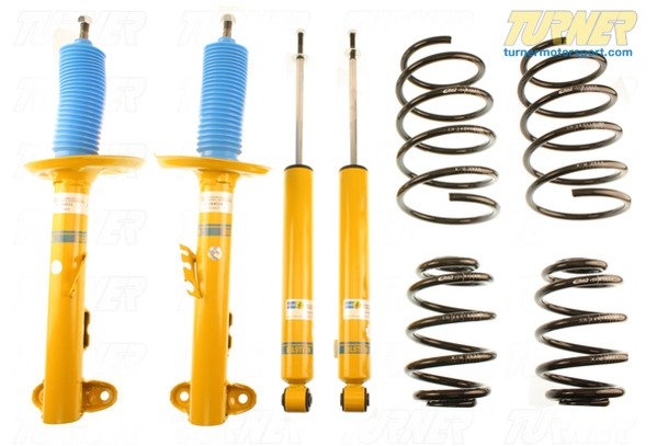T#338725 - E39SUSPX6CYL - E39 525i/528i/530i E39 H&R/Bilstein Sport Suspension Package - Packaged by Turner - BMW
