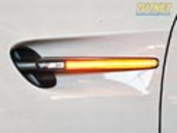 T#338587 - BM-0266-X - Side Grill LED Turn Signals - E90/E92/E93 M3 - Turner Motorsport - BMW