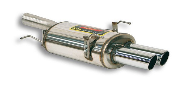 T#337897 - 788306 - E60 535i Supersprint Performance Muffler - Supersprint - BMW