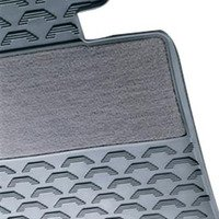 Genuine BMW Rubber Floor Mats - Grey - E90 E92 3 series