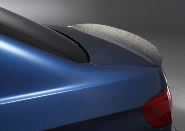 E90 Original Bmw Carbon Fiber Rear Lip Spoiler Fits All 2006 E90