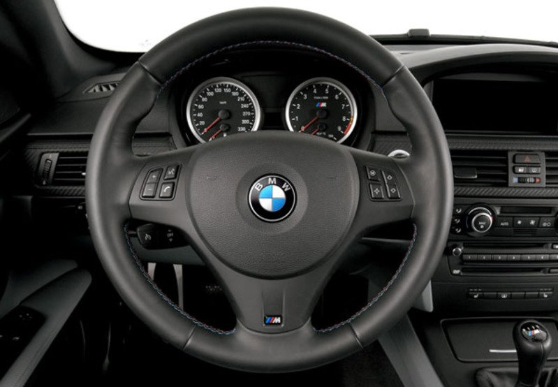 T#338089 - 32302283733 - E90/E92 M3 Steering Wheel - Fits all E90/E92 3 Series - Genuine BMW - BMW