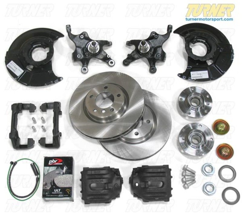 325tom3brakes E36 M3 Front Big Brake Conversion For E36 318i 325i 323i 328i Turner Motorsport