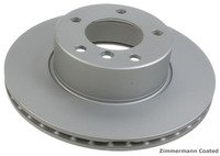Front Brake Rotors - E39 540i -3/00, E38 740i/iL -12/00, E31 850i -8/93, 850CSi (Pair)