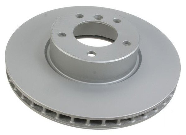 T#338121 - 34116767059 - Front Brake Rotors - E39 530i, E39 540i 4/2000-2003 (Pair) - Packaged by Turner - BMW