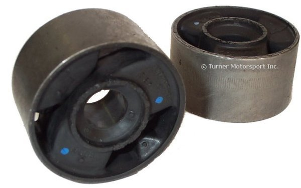 T#338060 - 31129058931 - Front Control Arm Bushings (FCAB) - Centered Rubber - E30 (Pair) - Packaged by Turner - BMW