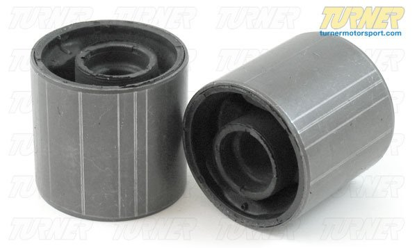 T#338062 - 31129063163 - Front Control Arm Bushings (FCAB) (Pair) - OEM Rubber - E46 325Xi/330Xi - Packaged by Turner - BMW