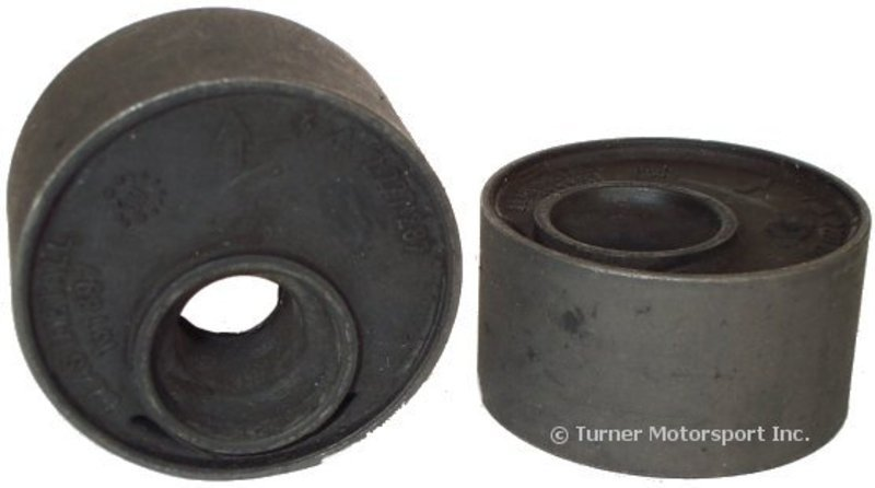 T#338063 - 31129064875 - Front Control Arm Bushings (FCAB) - Offset Rubber - E30, E36, Z3 (Pair) - Packaged by Turner - BMW