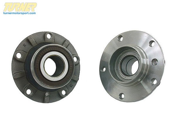 T#338071 - 31221092519 - Front Wheel Bearing Hub - E38 740i 740il 750il - Packaged by Turner - BMW