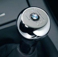 T#338319 - 2516041192X - Manual BMW Shift Knob - Chrome Sphere - 5 or 6 Speed Pattern - Genuine BMW - BMW