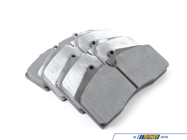 Hawk Hawk DTC-60 Race Brake Pad Set - (HB141G.650) - ST40 Calipers TMS16529