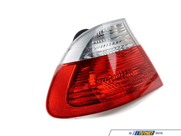 Genuine European BMW Tail Light - Clear - Left - E46 323ci, 323ci, 328ci, 330ci, M3 63218383825