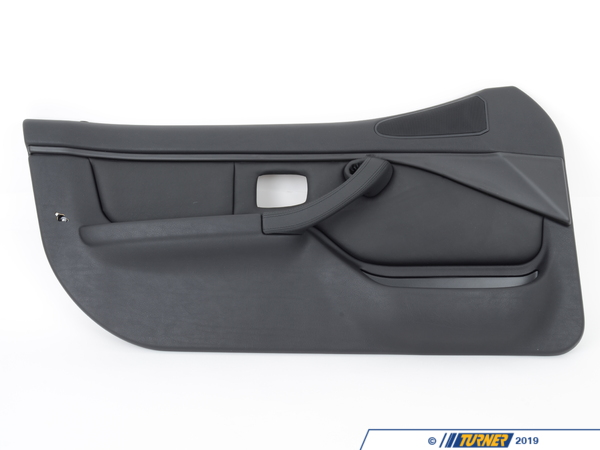 T#95793 - 51412496753 - Genuine BMW Door Lining Leather Left Q6Sw Schwarz - 51412496753 - Genuine BMW -