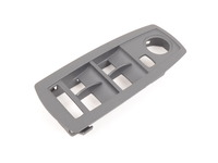 Genuine BMW Switch Cover, Front Driver S - 51413411746 - Schiefergrau