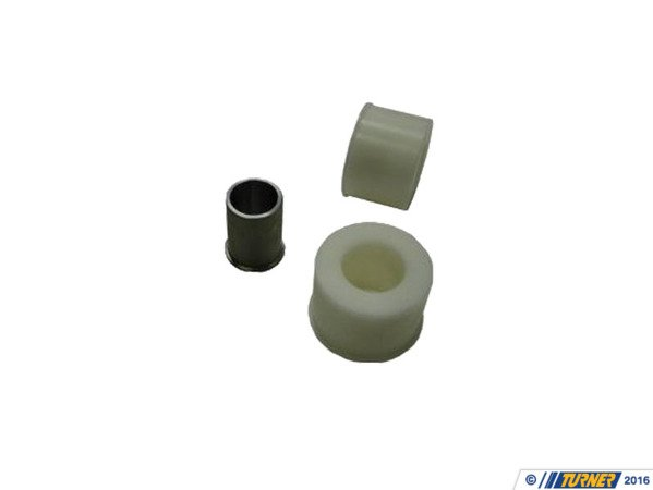 T#3464 - 31126757623D - Front Control Arm Bushings (FCAB) - Delrin Solid Race - E46 (Not M3) (Pair) - Turner Motorsport - BMW
