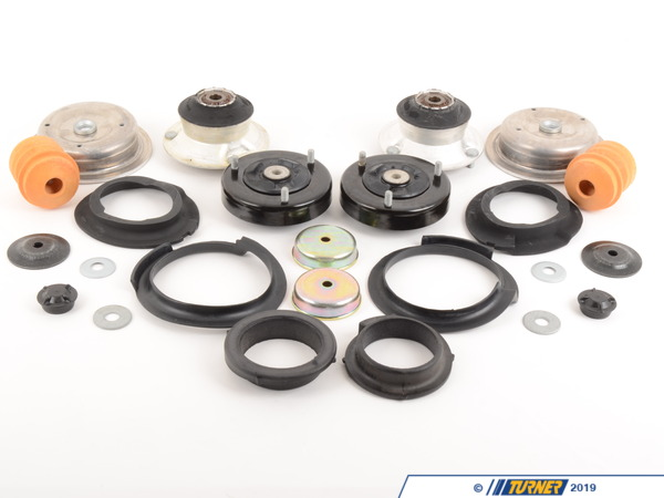 T#182510 - TMS182510 - 5-series Strut/Shock Mount Kit - E39 525i/528i/530i with Performance Shocks/Springs - Packaged by Turner -