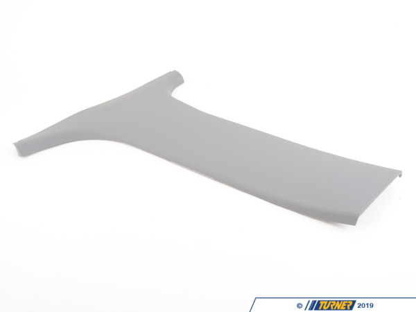 T#104779 - 51438207195 - Genuine BMW Covering Column-Center Lower Left Grau - 51438207195 - E39 - Genuine BMW -