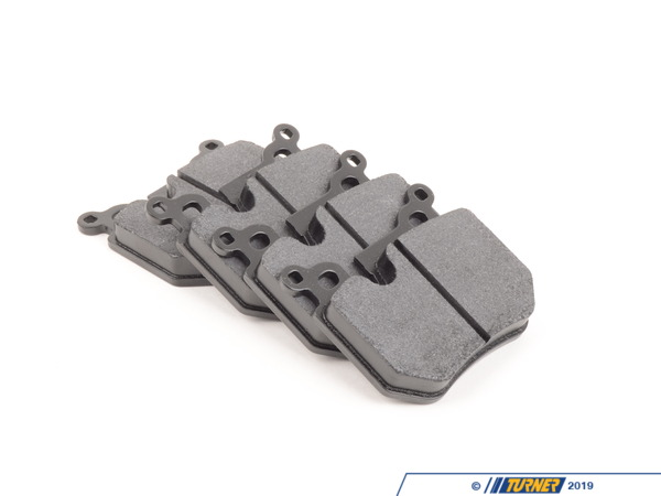 T#3486 - TMS3486 - Hawk HT10 Race Brake Pads - Rear - E82/E88 135i - The Hawk HT10 compound combines the high torque levels of the aggressive Hawk Blue with a revised friction compound that makes it easier to modulate and wears nicer on rotors. The HT10 remains consistent over a wide range of temps and can even work when cold. It's been a popular pad for racers looking for the performance of a Hawk Blue but is not as harsh on rotors.Features and Characteristics:+ very high torque performance+ high temp range+ up to 1300*F+ mild abrasive metallic content does not require high heat to work+ excellent modulation at high temps+ a 'friendly and easy' pad to useHawk HT10 Racing REAR Brake Pads, for all 135i (E82 & E88 coupe/convertible chassis). Not for street use. - Hawk - BMW