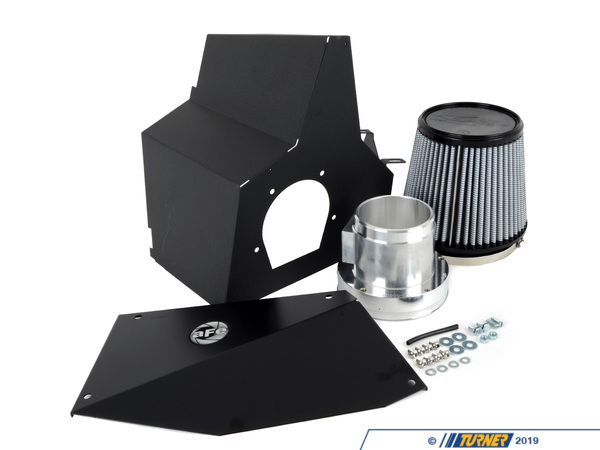 "T#1930 - 51-11521 - aFe Magnum FORCE Pro Dry S Stage 1 Air Intake - E85/E86 Z4 M Roadster, Z4 M Coupe - ""Oil-Free"" ProDry S FilterThis intake kit replaces your restrictive factory air box. It features a 1.6mm powder-coated steel heatshield that blocks hot air from entering the filter. Each intake kit has a custom application-specific aFe cone filter that replaces the stock panel filter. The larger aFe filter, combined with the heat shield allows more air to flow to the engine. By removing your stock intake air box, you are removing the most restrictive portion of your intake system, increasing both horsepower and torque, improving acceleration and throttle response, and producing a more-aggressive engine note. Step-by-step instructions for a quick and easy install are included. aFe reports a gain of 11hp and 10ft/lbs of torque on the Z4 M.aFe is among the first intake manufacturers to offer a dry filter option on their intake kits. The Pro Dry S filter in this intake kit has an oil-free filter media that flows better than stock paper filters but requires less maintenance than alternative oiled filters. For cleaning, the dry filters need only to be brushed off and cleaned with the approved aFe Restore Kit. For maximum power gains, we recommend the Pro 5 R oiled filters. The oiled filter will flow better but will need occassional re-oiling as part of a regular maintenance schedule.This aFe intake kit fits all 2006+ MZ4 including:2006-2008 E85 MZ4 BMW M Roadster2006-2008 E86 MZ4 BMW M Coupe - AFE - BMW"