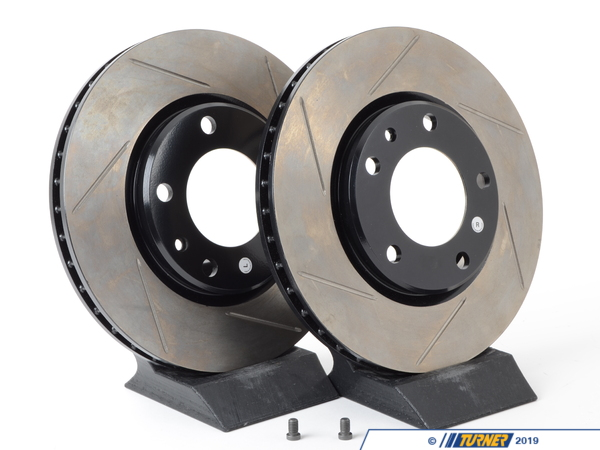 T#3081 - 34112226813GS - Gas-Slotted Brake Rotors (Pair) - Front - E30 M3 - StopTech - BMW