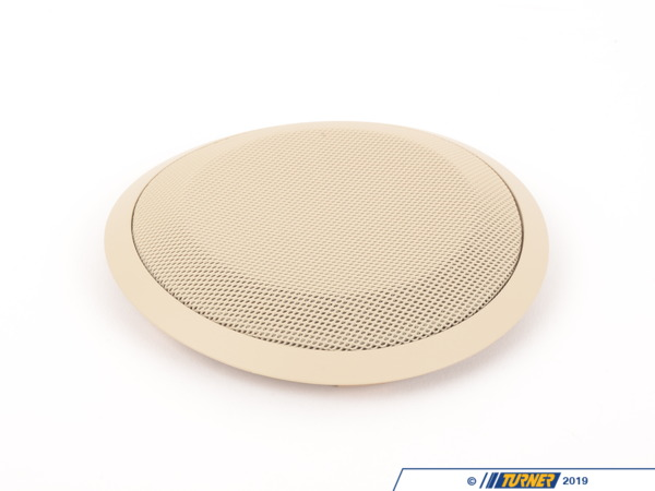 T#96189 - 51416975507 - Genuine BMW Cover F Left Loudspeaker - 51416975507 - Creambeige - Genuine BMW -