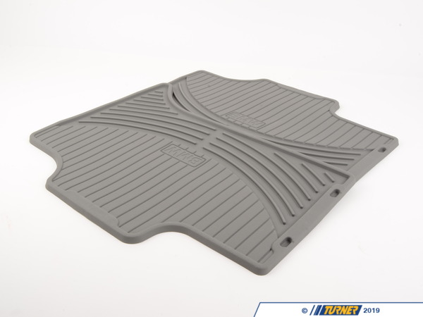 T#109893 - 51470151486 - Genuine BMW Set Rubber Mats Rear Gray X5 - 51470151486 - E53 - Genuine BMW -