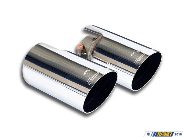 T#221956 - 816044 - Supersprint Exhaust RACE TIPS RT-LT O100 500 ABARTH SS, MINI S - Supersprint -
