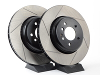 Gas-Slotted Brake Rotors (Pair) - Rear - E60 535i, 545i, 550i - E63 645ci, 650i