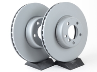 Front Zimmerman Coated Brake Rotors (340x30) - F22 M235i M235iX, F30 335i 335iX, F32 435i 435iX (Pair)
