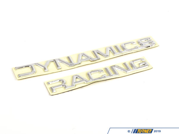 T#3581 - 2500000002 - Racing Dynamics Rear Deck Emblem - Racing Dynamics - BMW