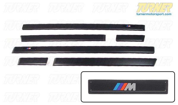 T#14228 - 82119403140 - Genuine BMW Accessories Retrofit Kit, M Moldings 82119403140 - Genuine BMW -
