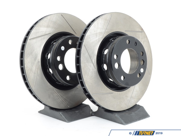 T#12186 - 34112226385GS - Gas-Slotted Brake Rotors (Pair) - Front - E34 M5 - US Spec - StopTech - BMW