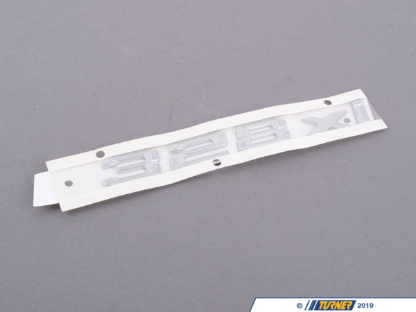 T#81173 - 51147183156 - Genuine BMW Emblem Adhered Rear - 328Xi - 51147183156 - Genuine BMW -