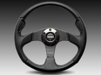 MOMO Jet Steering Wheel - Black - 320mm