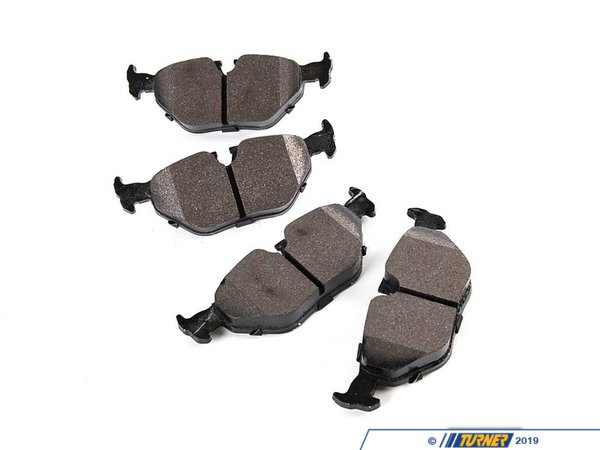 T#1158 - TMS1158 - Hawk HPS Street Brake Pads - Rear - E30 M3, E36 all, E36 M3, E39 (not M5), E46 (not 330/M3), Z3 all, MZ3, Z4 2.5/3.0 (incl 3.0si) - Hawk - BMW