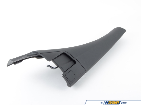 T#103602 - 51437143134 - Genuine BMW Lateral Trim Panel Top Rear - 51437143134 - Schwarz - Genuine BMW -