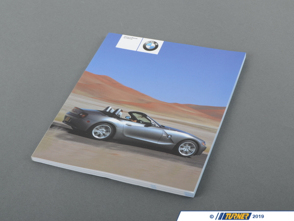 T#26538 - 01410157498 - Genuine BMW Owner's Handbook Z4 - 01410157498 - E85 - Genuine BMW Owner's Handbook Z4 - This item fits the following BMW Chassis:E85 - Genuine BMW -