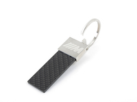 Genuine BMW Carbon Fiber Key Ring - 80272410929