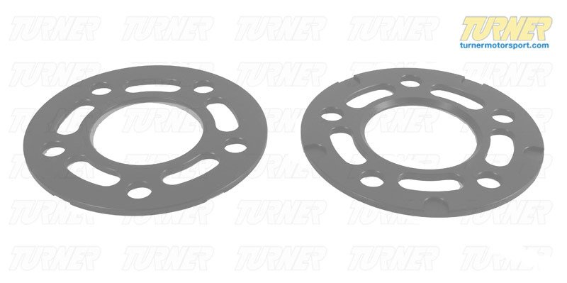 T#339033 - TMS215373 - Turner BMW 5mm Big Pad Wheel Spacers (Pair) - E70/E71, F-Chassis - Turner Motorsport - BMW