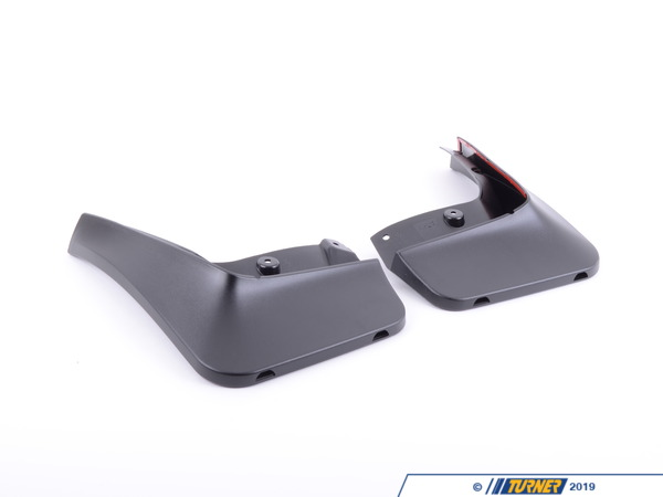T#11423 - 82160151586 - Genuine BMW Set Mud Flaps, Rear E60 Lci - 82160151586 - Genuine BMW -