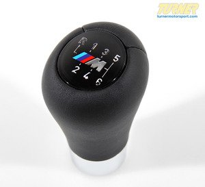 Genuine BMW Gearshift Knob,leather ZHP - 25117896886