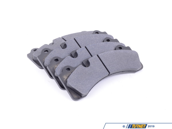 T#16492 - TMS16492 - Brembo Calipers Monobloc M - Race Brake Pad Set - Hawk DTC-60 - Hawk - BMW