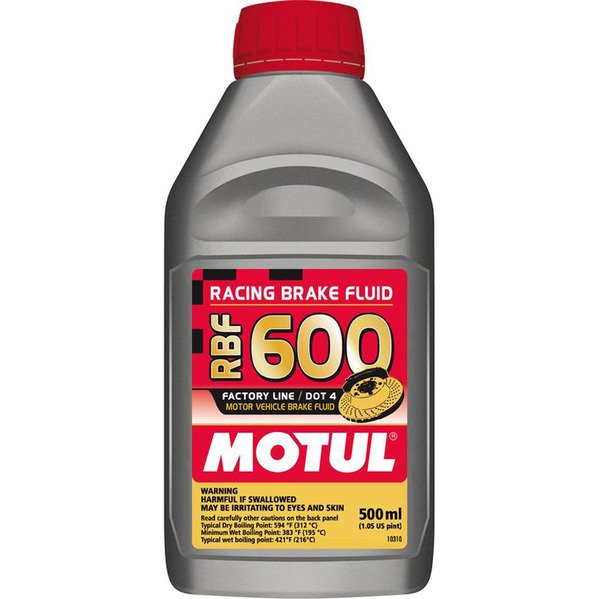 T#1795 - RBF600 - MOTUL RBF 600 Racing Brake Fluid (DOT4) - 500ml Bottle - Motul - BMW MINI