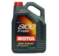 MOTUL 8100 5W-40 X-cess Synthetic Engine Oil - 5 liter jug