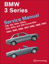 T#3783 - B390 - Bentley Service & Repair Manual - E30 BMW 3-series (1984-1991) - Bentley - BMW